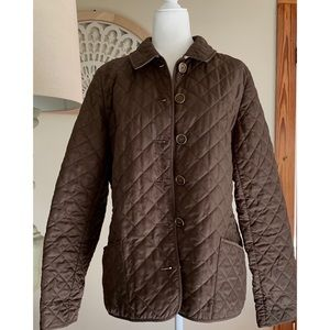 AUTHENTIC Burberry Barely Worn Quilted Size 12